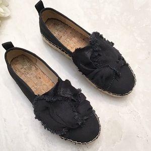 "Sam Edelman ""CABRERA"" Black Espadrilles Size 6.5"